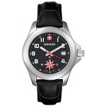 G-3 Navigator w/Compass, Black Dial, Black Leather Strap